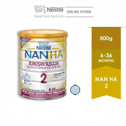 NAN HA 2 Follow Up Formula Tin 800g